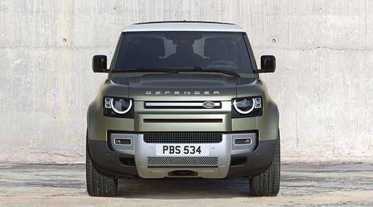 Nouveau Land Rover Defender